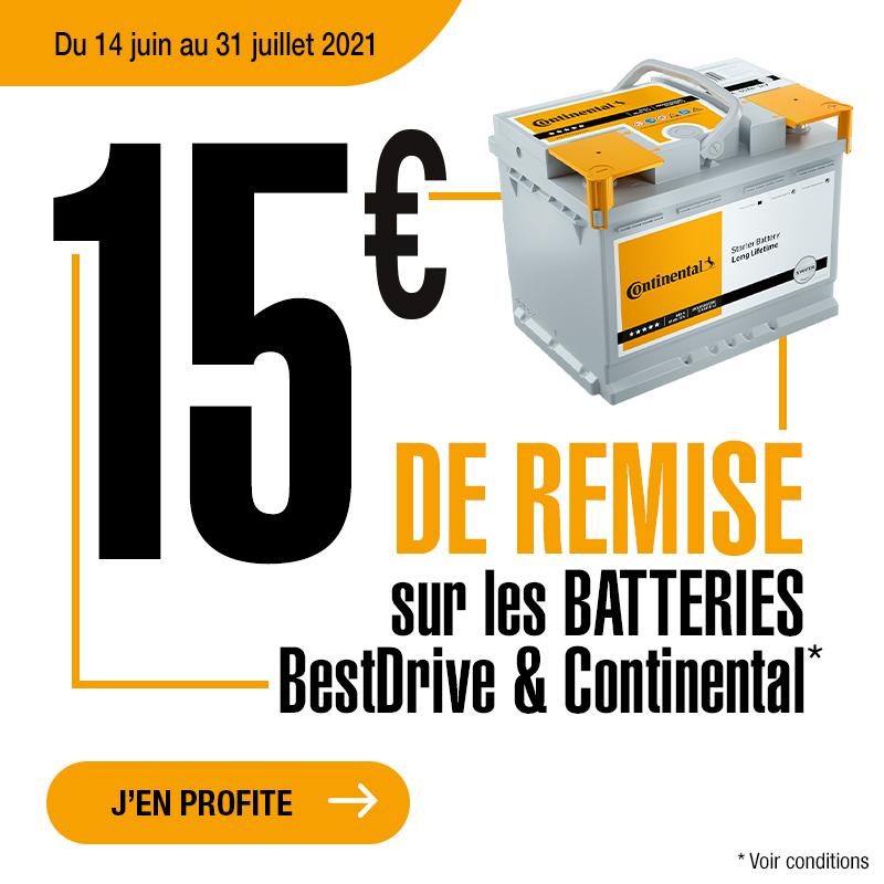 Promo Batterie